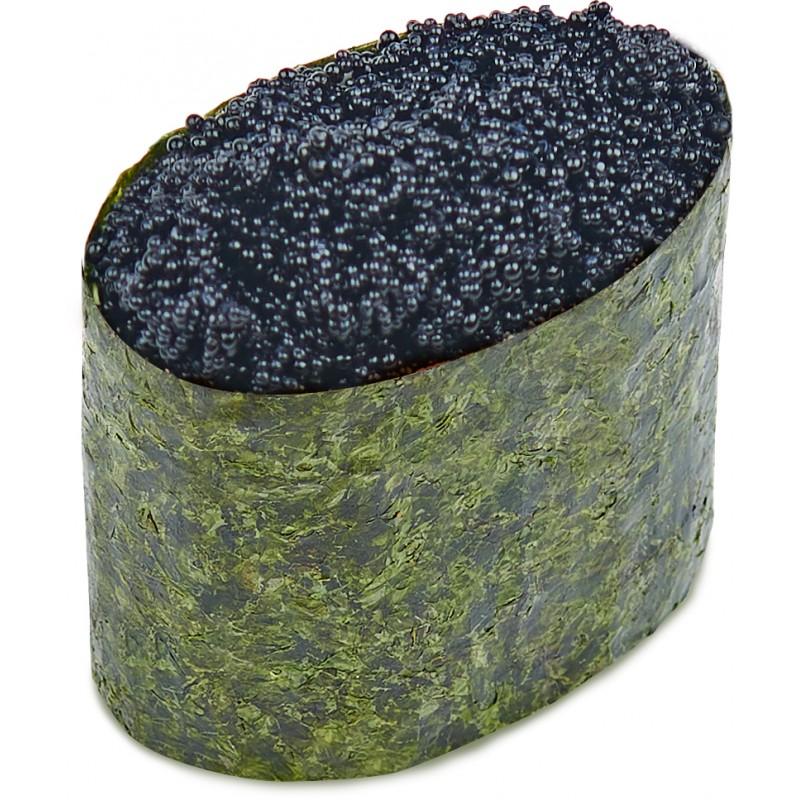 Суши Тобико чёрная
